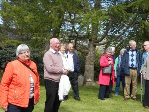 Photos taken on our outing to Croftcat Garden near Aberfeldy.