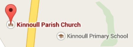 Small map for Kinnoull PArish Church