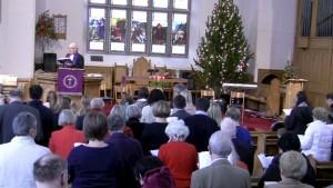 Kinnoull Parish Church, Christmas Service