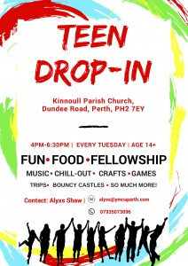 Teen Drop In Flyer