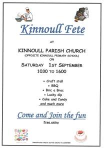Kinnoull Fete Poster